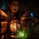 Thumb the inquisitor in dragon age inquisition